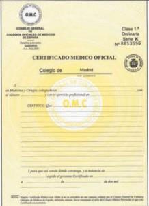 CertificatoMedico